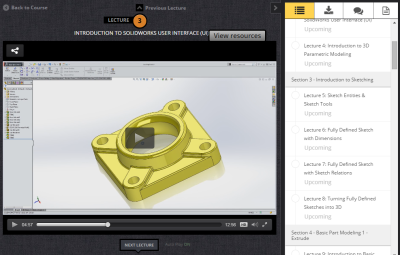 New SolidWorks Self-Paced Course Launching in January 2015!