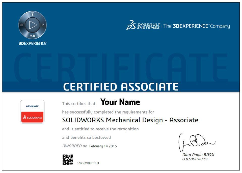 Certified Solidworks Associate Cswa Preparation Selfpac3d