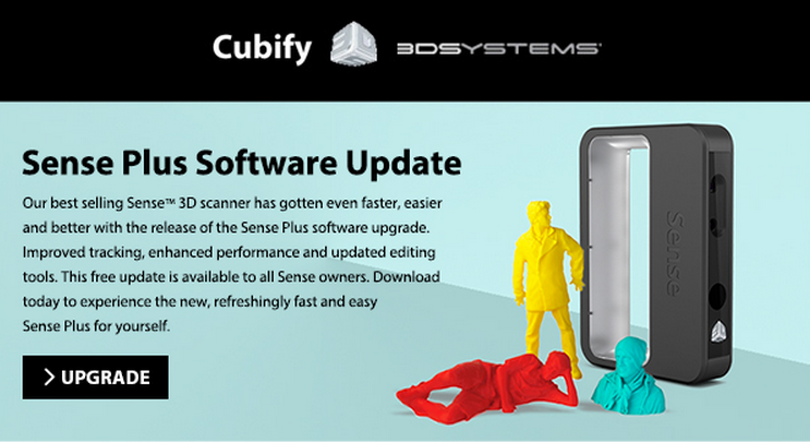 3D Systems Sense Plus Software Update